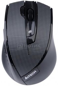 Мышь беспроводная A4Tech  G10-730F, 100-2000 dpi, Черный от Нотик