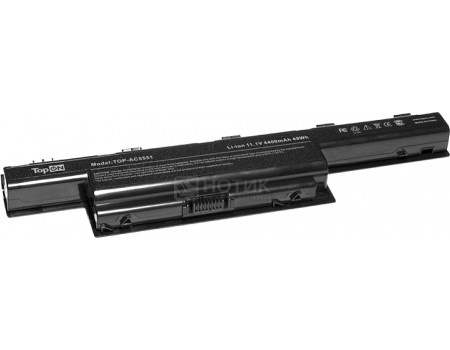 Аккумулятор TopON TOP-AC5551 11.1V 5200mAh для Acer PN: AS10D31 AS10D3E AS10D41 AS10D61 AS10D71TopON<br>Аккумулятор TopON TOP-AC5551 11.1V 5200mAh для Acer PN: AS10D31 AS10D3E AS10D41 AS10D61 AS10D71<br>