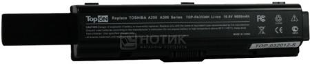 Аккумулятор TopON TOP-PA3534H Toshiba Satellite A200, A210, A300. P/N: PA3534, PA3535. 10.8V 6600mAh. Гарантия 6 мес
