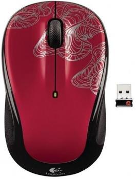 Мышь беспроводная Logitech M325 Wireless Mouse Silver Filament USB 910-002414, 1000dpi, Красный НОТИК 1250.000