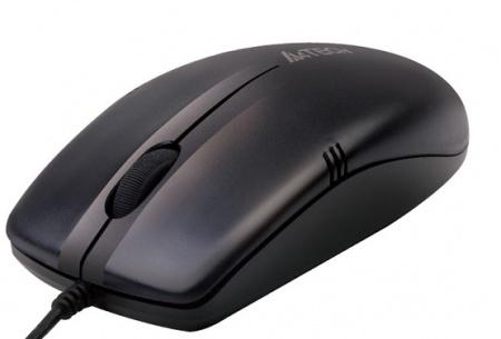 Мышь проводная A4Tech OP-530NU USB 1000dpi, Черный от Нотик
