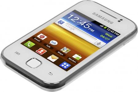 Смартфон samsung galaxy y gt s5360 white