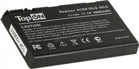 Аккумулятор TopON TOP-50L6 11.1V 4800mAh для PN: BATCL50L6, BATBL50L6