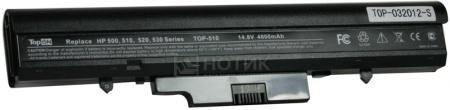 Аккумулятор TopON TOP-510 для 14.8V 4800mAh PN: RW557AA HSTNN-FB40 HSTNN-IB39 HSTNN-C29C HSTNN-FB40 HSTNN-IB44 HSTNN-IB45 аккумулятор topon top nx8220 14 8v 4800mah для hp pn pb992a hstnn ub11 hstnn ob06 hstnn lb11