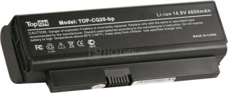 Аккумулятор TopON TOP-CQ20-bp для 14.8V 4800mAh PN: HSTNN-DB77 HSTNN-I53C HSTNN-OB77 NBP4A112 NK573AA 493202-001 аккумулятор topon top nx8220 14 8v 4800mah для hp pn pb992a hstnn ub11 hstnn ob06 hstnn lb11