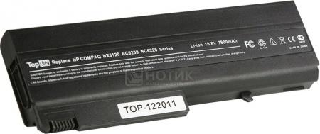 Аккумулятор TopON TOP-NX6120H 11.1V 7800mAh PB994A HSTNN-IB18 аккумулятор topon top nx8220 14 8v 4800mah для hp pn pb992a hstnn ub11 hstnn ob06 hstnn lb11