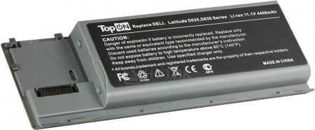 Аккумулятор TopON TOP-D620 11.1V 4800mAh для PN: KD494 JD634 PC764 TC030 312-0383 451-10298