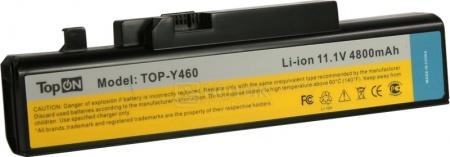 Аккумулятор TopON TOP-Y460-bp 11.1V 4800mAh для PN: 57Y6440 L09N6D16 LO9N6D16
