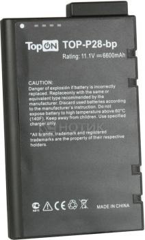 Аккумулятор TopON TOP-P28 11.1 6600mAh для PN: SSB-P28LS6/E SSB-P28LS9 SSB-V20CLS/E SSB-T10CLS BSA02