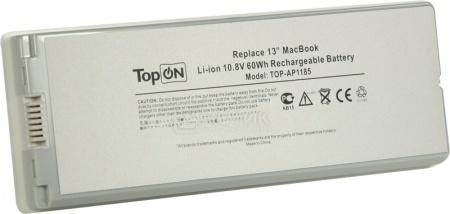 Аккумулятор TopON TOP-AP1185B для 10.8V 5600mAh black PN: A1185 MA561LL/A MA561G/A