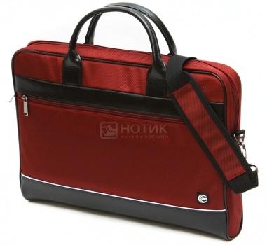 """Фотография товара сумка 17,3"""" Cross Case CC17-014, Кожа/Нейлон, Красный (18554)"""
