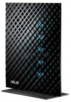 Маршрутизатор Asus RT-N15U беспроводной с интерфейсом до 300 Мбит/с Черный НОТИК 2790.000