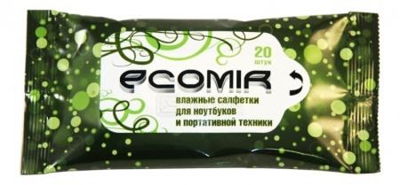 Влажные салфетки  Ecomir 24224 20шт. НОТИК 70.000