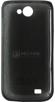 Чехол на крышку Clever Ultralight Cover для Samsung i8150 Galaxy W Поликарбонат, Черный