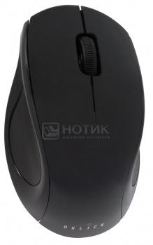 Мышь беспроводная Oklick 412SW 1600dpi, Черный НОТИК 600.000