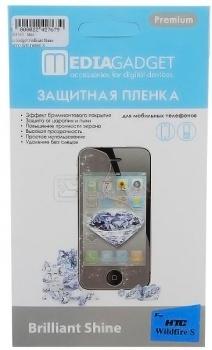 Защитная плёнка для HTC Wildfire S Media Gadget Brilliant Shine бриллиантовая НОТИК 150.000