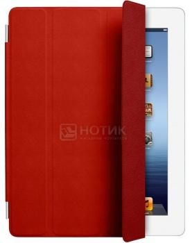 """Чехол 9.7"""" Apple для iPad 2/3/4 iPad Smart Cover MD304ZM/A Кожа, Красный"""