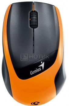 Мышь беспроводная Genius DX-7020, 1200dpi, Черный/Оранжевый НОТИК 700.000
