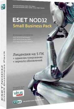 Программный продукт ESET NOD32 SMALL Business Pack на 5 ПК на 1 год
