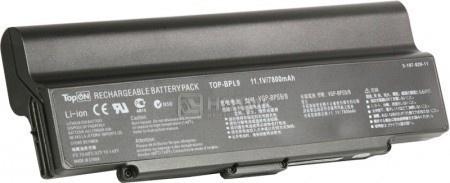 Аккумулятор TopON TOP-BPL9-NOCD 11,1V 6600mAh для Sony Vaio PN: VGP-BPL9 VGP-BPS9A/B VGP-BPS9/B VGP-BPS10 оригинальный аккумулятор sony vpcz21 z212 z213 z214 z215 z216 sony vgp bps27