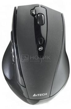 Мышь беспроводная A4Tech G10-810F Wireless, 2000dpi, Черный от Нотик