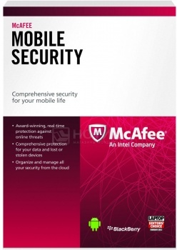 Программный продукт McAfee Mobile Security QFWSS139BF1RAAMcAfee<br>Программный продукт McAfee Mobile Security QFWSS139BF1RAA<br>