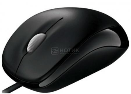 Мышь проводная Microsoft Compact Optical Mouse 500 4HH-00002 800dpi, Черный