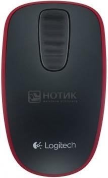 Мышь беспроводная Logitech Zone Touch T400 910-003313, 1000dpi, Черный/Красный НОТИК 1000.000