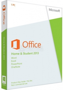 Программное обеспечение Office Home and Student 2013 32/64 Russian Russia Only EM DVD No Skype (W) 79G-03740