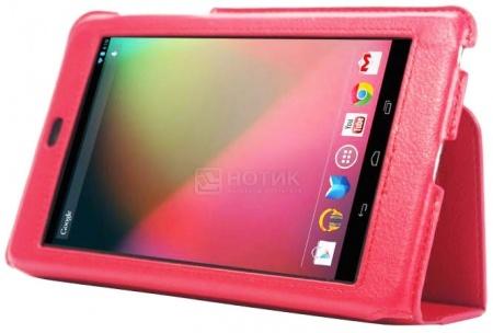 """Чехол для 7"""" IT Baggage для Asus Nexus 7 ITASNX705-3 Slim, Искусственная кожа, Красный НОТИК 900.000"""