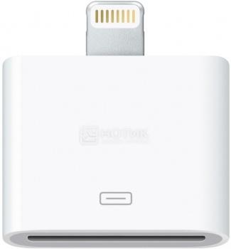 Адаптер Deppa для Apple iPad4/iPhone 5 Lightning port/30-pin, Белый  72116