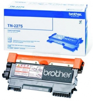 Картридж Brother TN-2275 для HL-2240R 2240DR 2250DNR 2600с черный TN2275