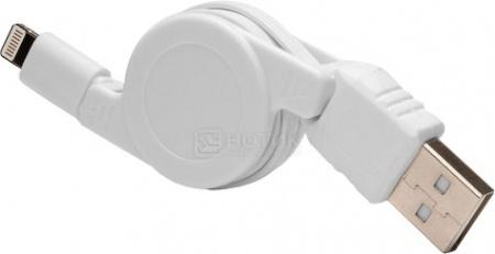 Кабель IQfuture для iPhone, iPad, iPod Apple Lightning port/USB 2.0 IQ-AC02, Белый стоимость