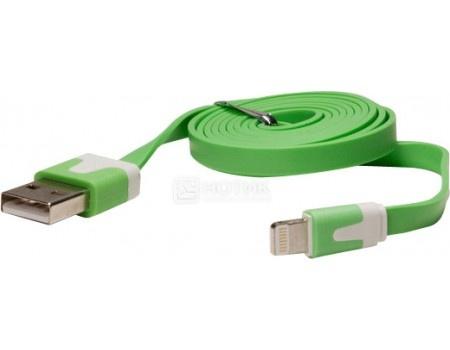 Кабель IQfuture для iPhone, iPad, iPod Apple Lightning port/USB 2.0 IQ-AC01/G, Зеленый стоимость