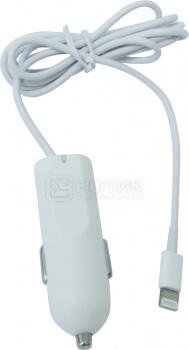 Автомобильное зарядное устройство IQfuture Lightning port/USB IQ-CC01/W Белый