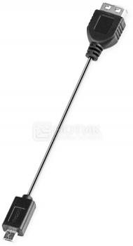 Адаптер USB OTG Deppa 72110 универсальный Черный адаптеры deppa адаптер nano
