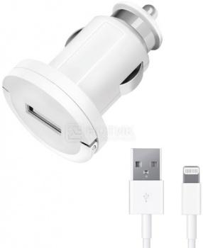 Автомобильное зарядное устройство Deppa 11208 для Apple с разъемом Lightning (8-pin) Белый от Нотик