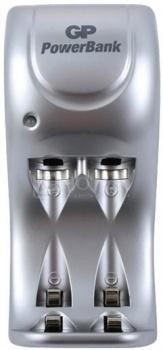 Аккумулятор + зарядное устройство GP PowerBank PB25GS270-CR2, 2 шт AA, 2700мAч