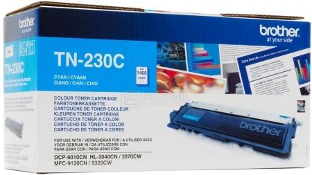 Картридж Brother TN-230C для HL3040 3070 DCP9010CN MFC9120CN 1400с голубой TN230C
