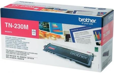Картридж Brother TN-230M для HL3040 3070 DCP9010CN MFC9120CN 1400с пурпурный TN230M