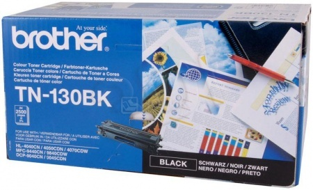 Картридж Brother TN-130BK для HL4040CN 4050CDN DCP9040СN MFC9440СN 2500с чёрный TN130BK