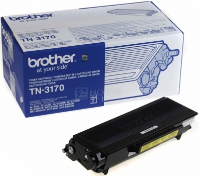 Картридж Brother TN-3170 для HL-5240 HL-5250DN HL-5270DN DCP-8065DN MFC-8860DN 7000с черный TN3170 от Нотик