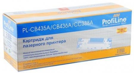 Картридж ProfiLine PL-CB435A для HP LaserJet P1005 P1006 P1505 M1522 M1120, Черный