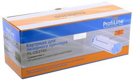 Картридж ProfiLine PL-CE278X для HP LaserJet P1566 1606DN, Черный