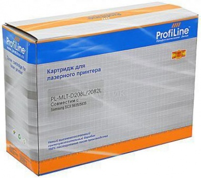 Картридж ProfiLine PL-MLT-D208L для Samsung SCX-5835FN 5635FN, Черный