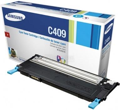 Картридж Samsung CLT-C409S для CLP-310 315 CLX-3170F 1000стр, Голубой CLT-C409S/SEE от Нотик