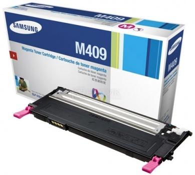 Картридж Samsung CLT-M409S для CLP-310 315 CLX-3170FN 1000стр, Пурпурный CLT-M409S/SEESamsung<br>Картридж Samsung CLT-M409S для CLP-310 315 CLX-3170FN 1000стр, Пурпурный CLT-M409S/SEE<br>