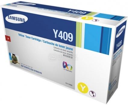 Картридж Samsung CLT-Y409S для CLP-310 315 CLX-3170F 1000стр, Желтый CLT-Y409S/SEESamsung<br>Картридж Samsung CLT-Y409S для CLP-310 315 CLX-3170F 1000стр, Желтый CLT-Y409S/SEE<br>