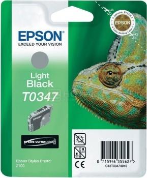 Картридж Epson T0347 для Stylus Photo 2100, Серый C13T03474010