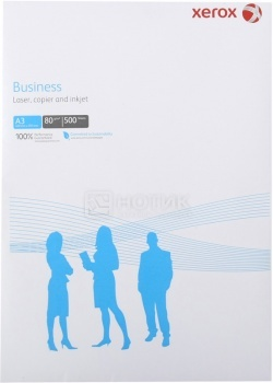Бумага A4  XEROX Business, 80г/м2, 500 листов 003R91820 от Нотик